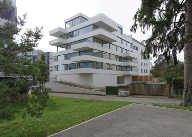 Cities Connection Project Residential Building (Geneva) Bassicarella Architectes