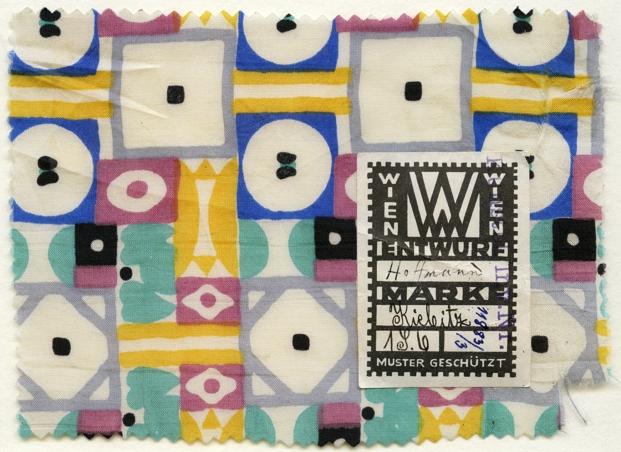Josef Hoffmann retal textil