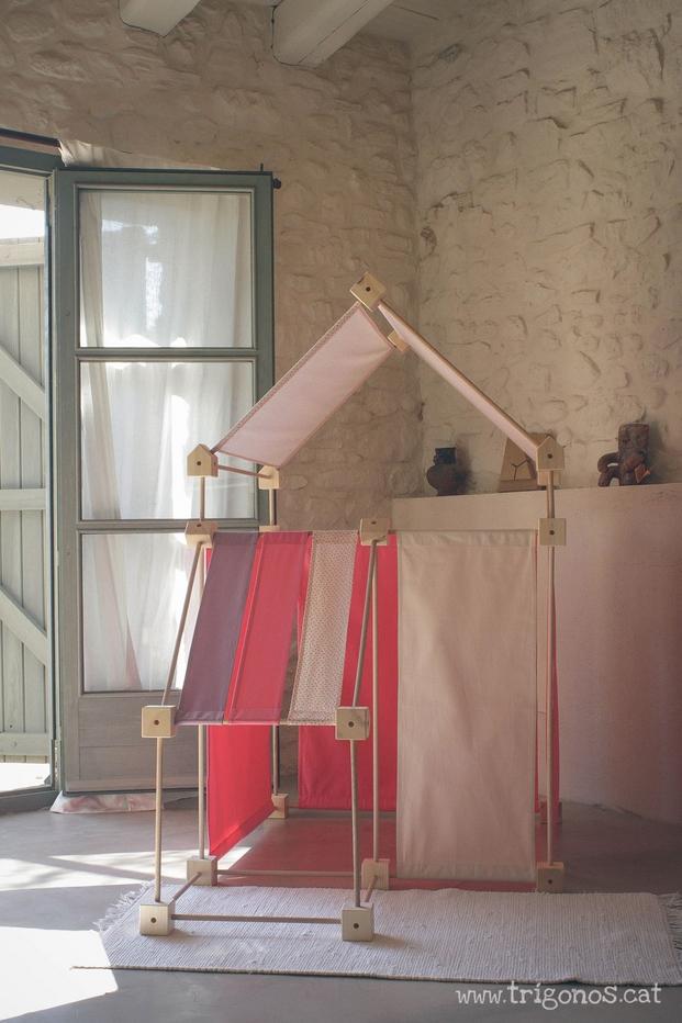 casita trigonos en el design market diariodesign