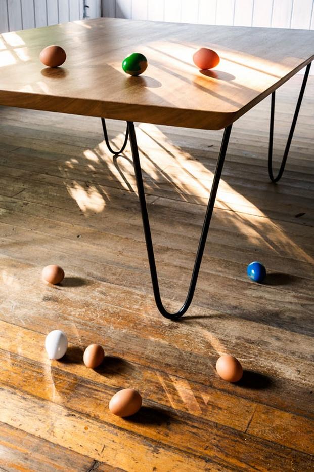 mesa de woodfeelings en design market 2014 diariodesign