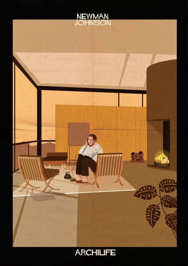 newman johnson ilustraciones Federico Babina archilife diariodesign