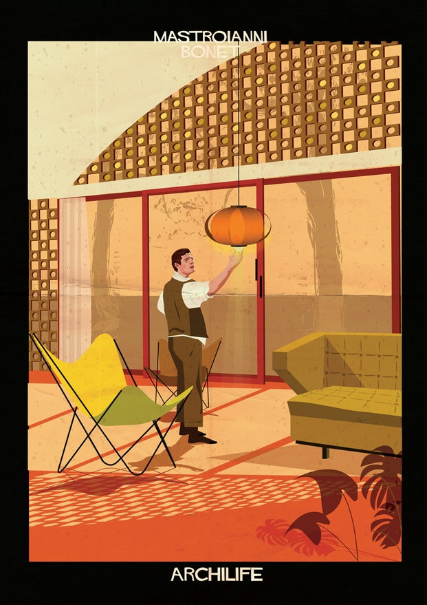 mastroianni bonet ilustraciones Federico Babina archilife diariodesign