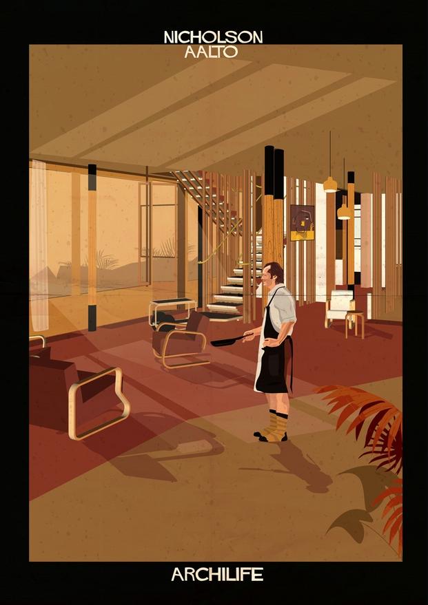 Nicholson Aalto ilustraciones Federico Babina Brando archilife