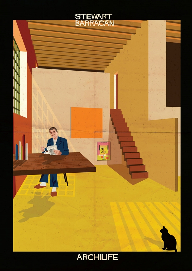 Stewart Barragán ilustraciones Federico Babina archilife