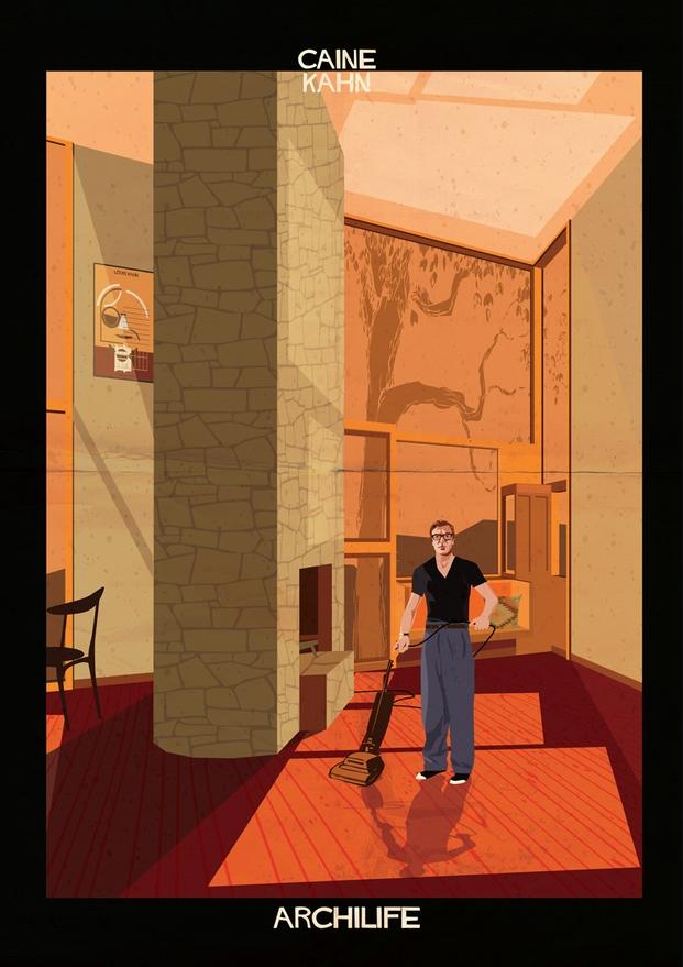Caine Kahn ilustraciones Federico Babina archilife