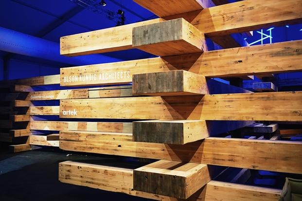 38 beams madera reciclada para servir al lujo de design for Bar con madera reciclada