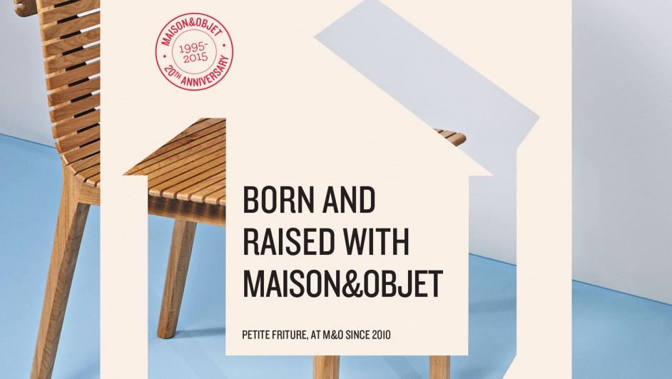 Cartel Maison Objet 2015 apertura