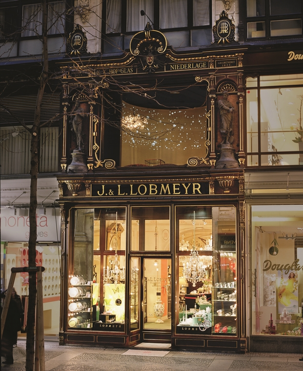 LOBMEYR main store Vienna