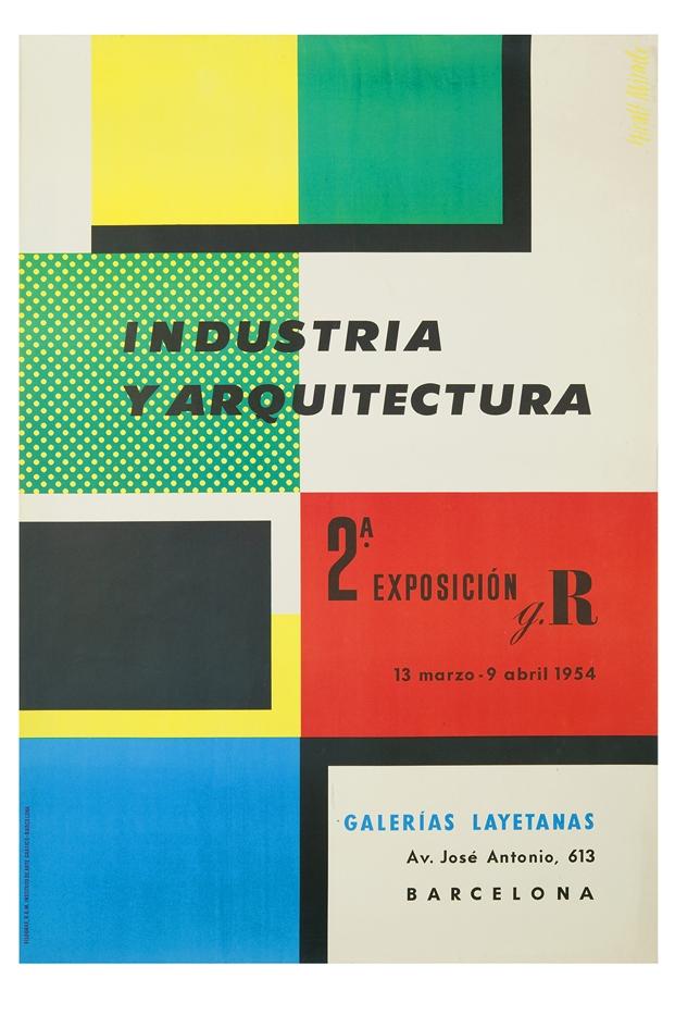 MDisseny_Expo Disseny Gràfic_Cartell Industria y arquitectua