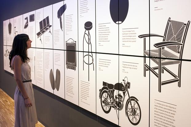 ANIOL RESCLOSA - MUSEU DEL DISSENY GLORIES BARCELONA -  EXPOSICIO DISSENY