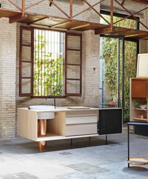 cocina flexible float mut design miras editions