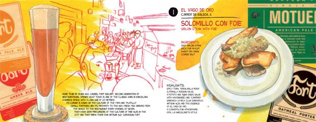 10 top tapas barcelona Vaso de oro