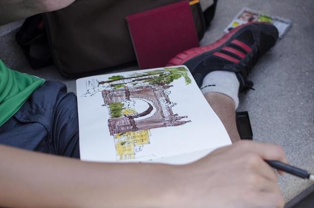 15 Syposium Urban Sketchers 2013 2