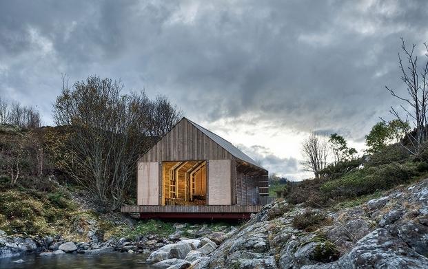 3 cabins taschen TYIN, Boathouse