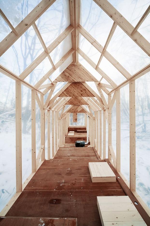 5 cabins taschen Hidemi Nishida, Fragile Shelter