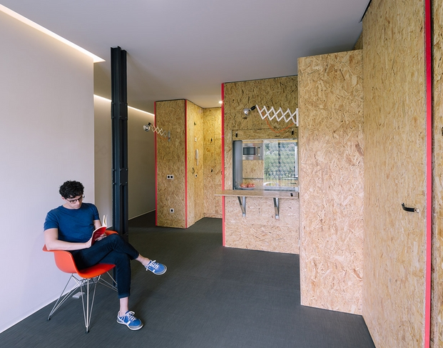 arquitectos jovenes tallerde2 pop-up house diariodesign