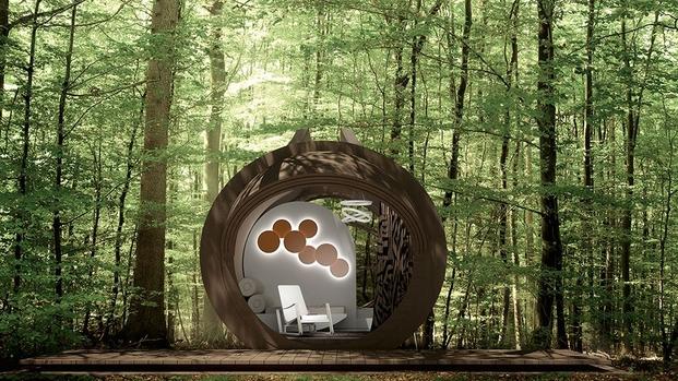 8 cabins taschen In-Tenta, DROP Eco-Hotel