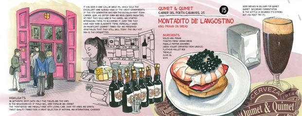 8 top tapas barcelona Quimet&Quimet