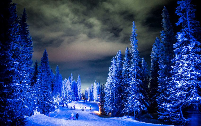 In the footsteps of the giants_skiing resort in Are by Ljusarkitektur