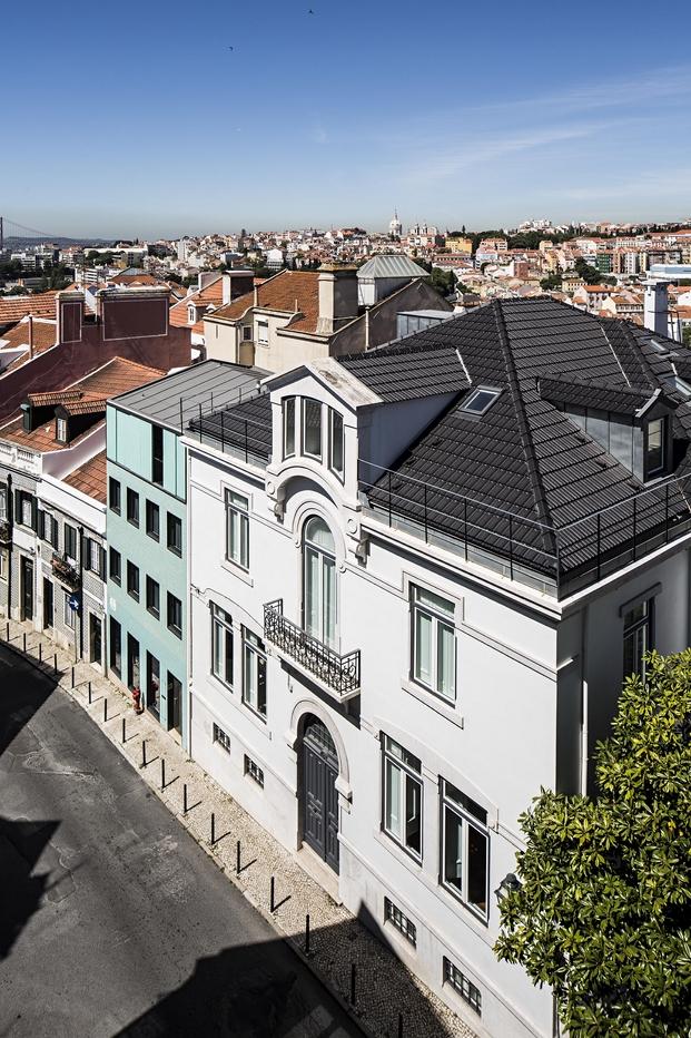 Casa no Principe Real Camarin Arquitectos (4)