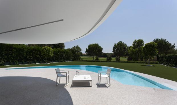 piscina Casa Balint de Fran Silvestre