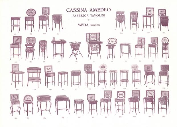 Primer catálogo Cassina