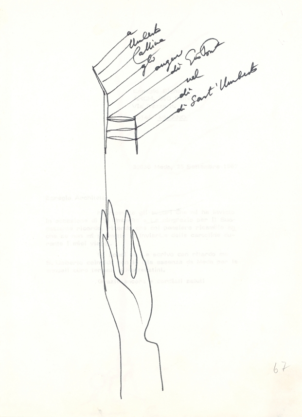 lettera Ponti-Umberto  Cassina
