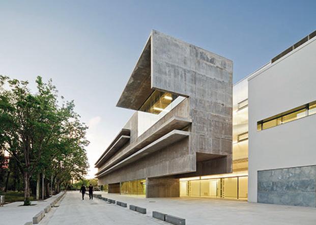 Mención especial Jóvenes arquitectos en 2013 a la Facultad de Biología Genética y Celular (Universidad de Alcalá), de Héctor Fernández Elorza