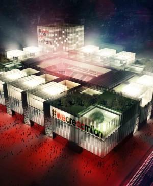 1 nuevo estadio AC Milan