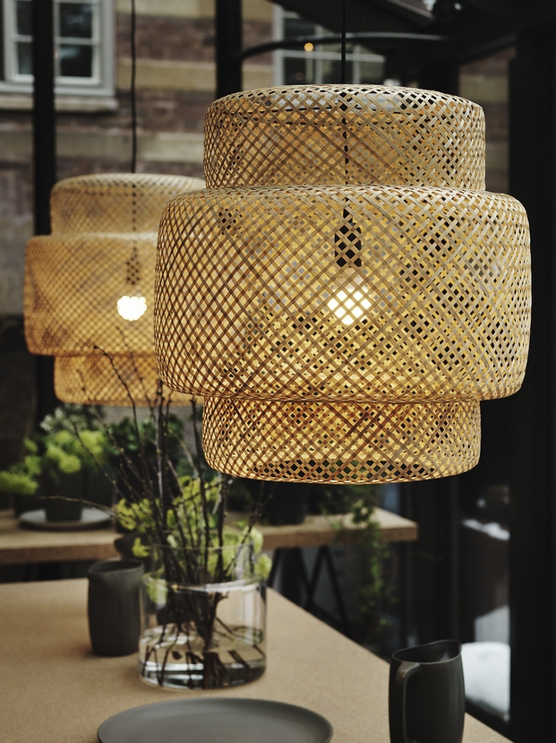 lamparas de ikea coleccion SINNERLIG