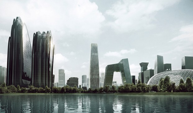 Chaoyang Park Plaza, proyecto de Ma Yansong