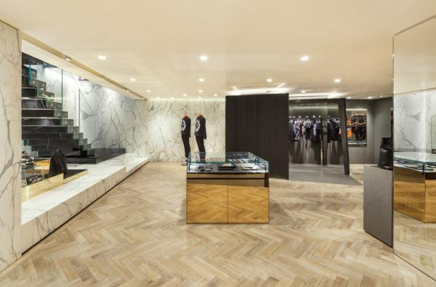 Givenchy boutique en Seoul corea del sur diariodesign