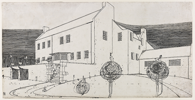 Mackintosh Architecture-Architecture Gallery-RIBA-Glasgow-School-of-Art