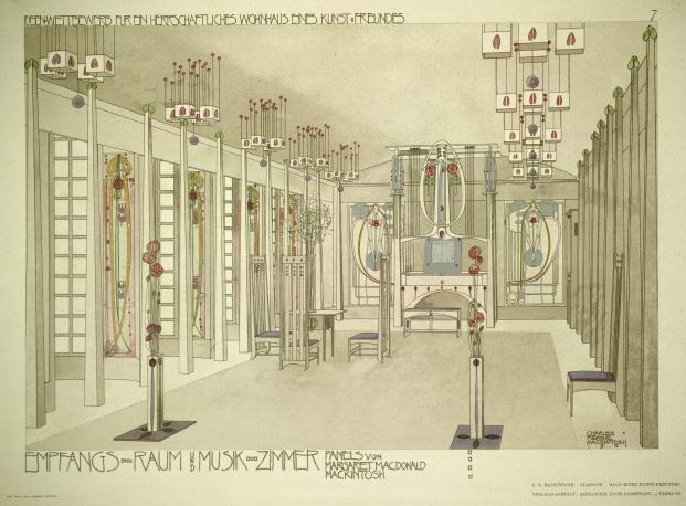 Mackintosh Architecture-Architecture Gallery-RIBA-RIBA-Library