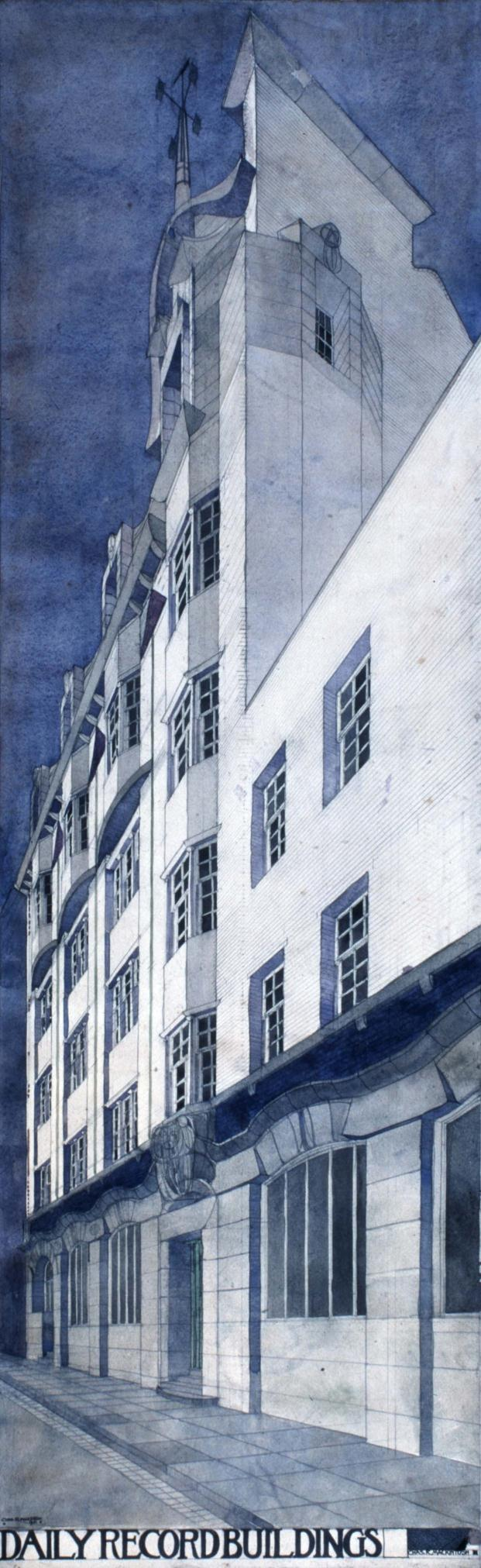 Mackintosh Architecture-Architecture Gallery-RIBA-University-of-Glasgow