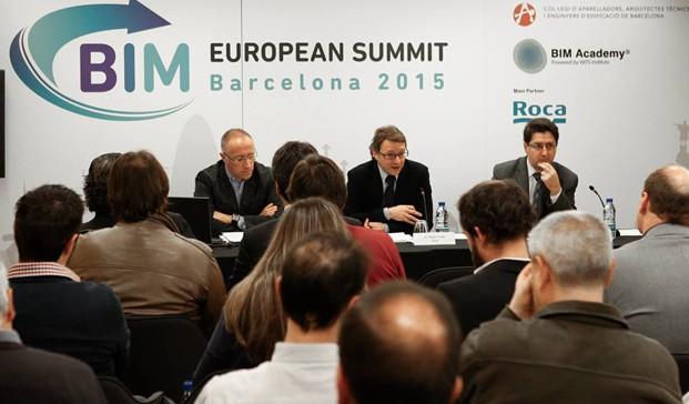 Presentación del BIM European Summit en Roca Barcelona Gallery