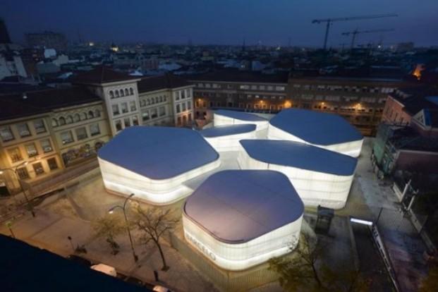 Sede provisional del Mercado Barceló (Madrid), 2008