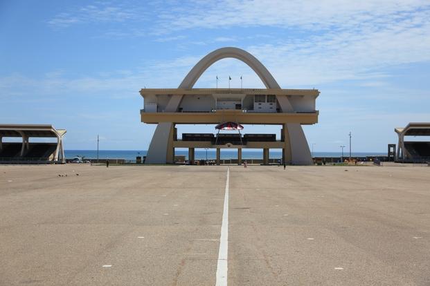 Arco de la Independencia, Accra, Ghana. Public Works Departments, 1961. © Manuel Herz
