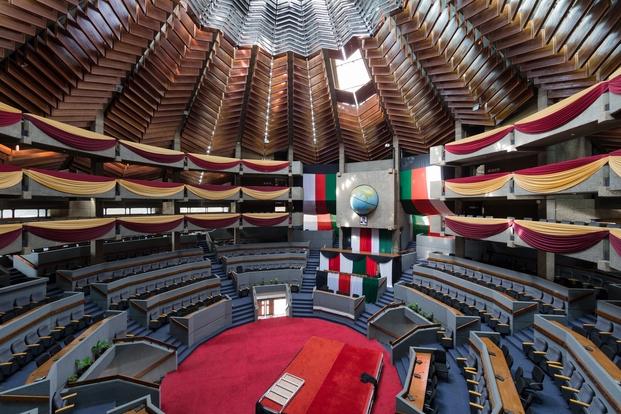 Kenyatta International Conference Centre, Nairobi, Kenia. Karl Henrik Nostvik, 1967-1973. © Iwan Baan