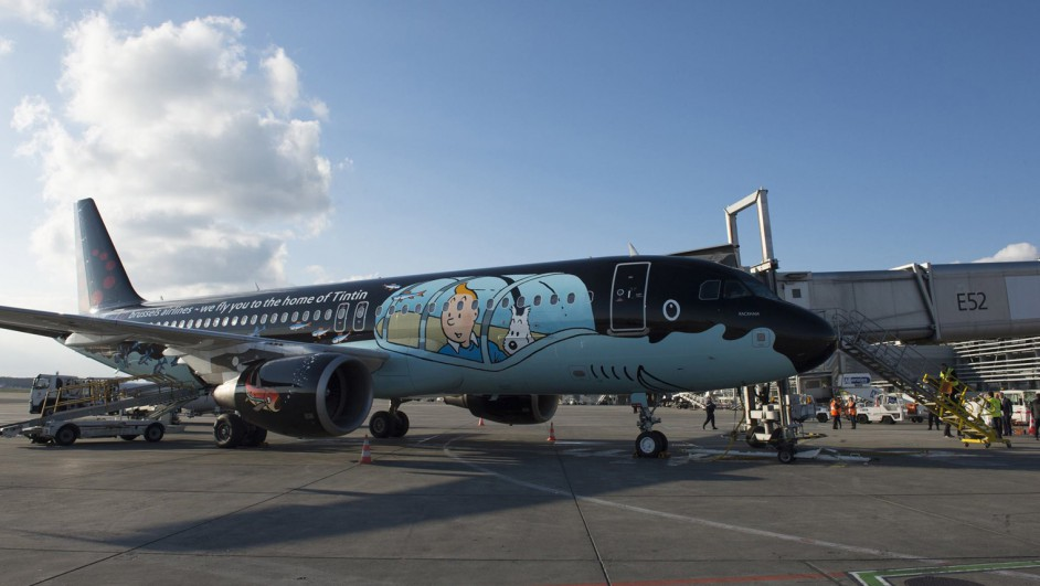 1 tintin brussels airlines