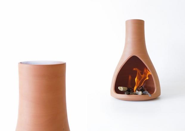 2 jarrón de fuego
