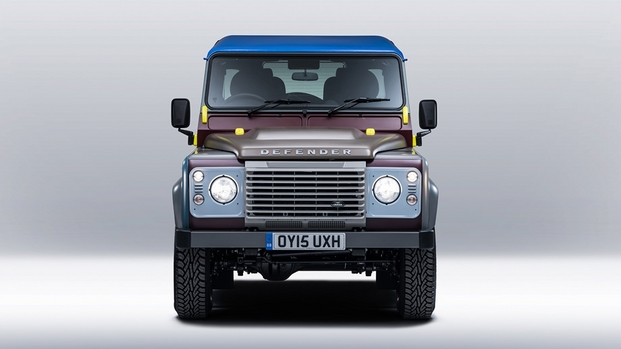 2 paul smith land rover defender