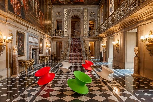 Spun chairs, de Thomas Heatherwick