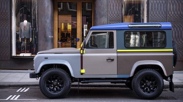 8 paul smith land rover defender