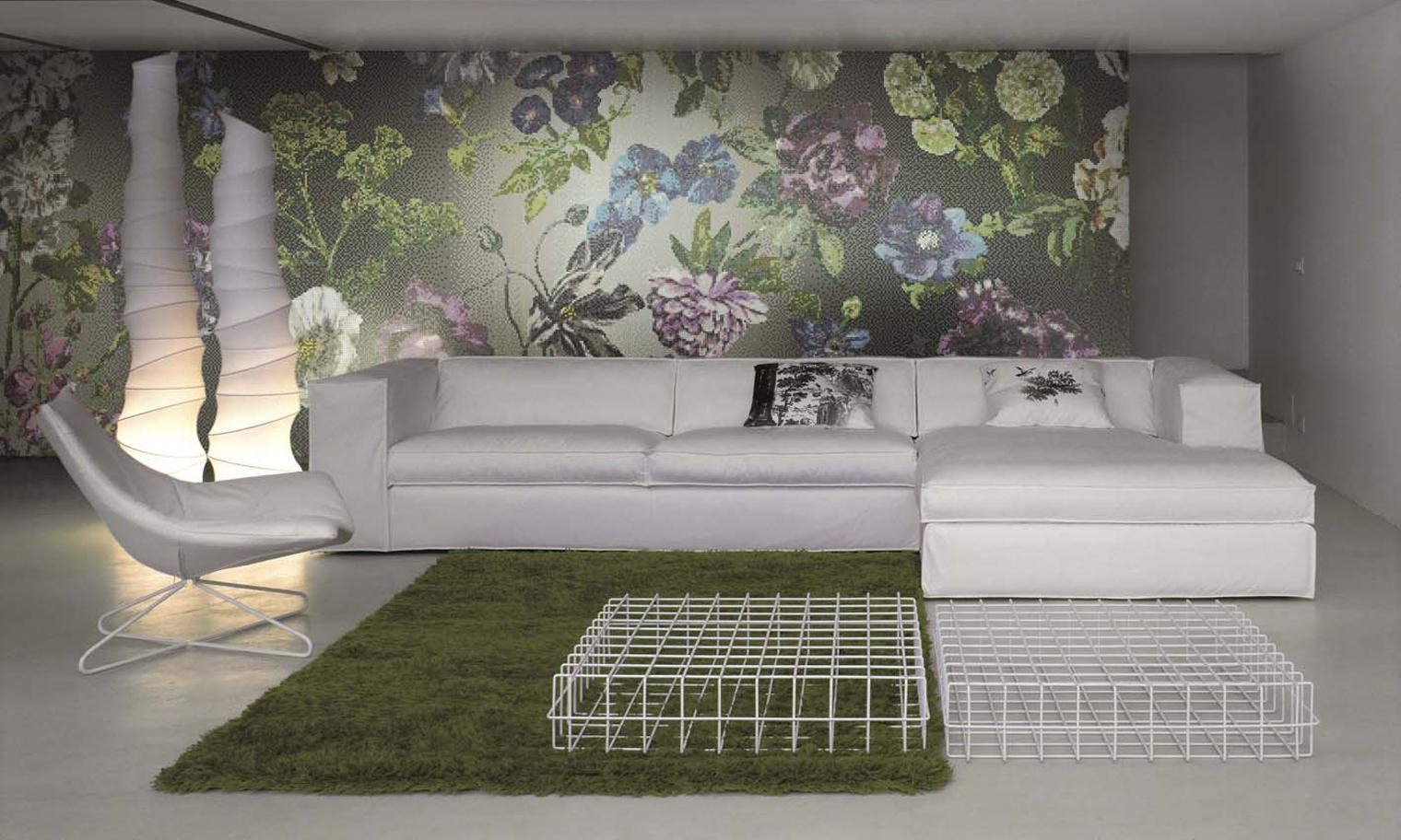 Tricia guild y su universo floral y po tico con bisazza diariodesign - Designers guild telas ...