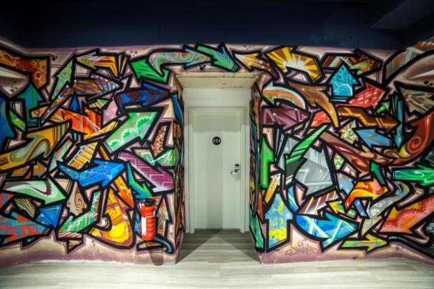 Catalonia Berlin Mitte_Graffiti 1st floor_ok