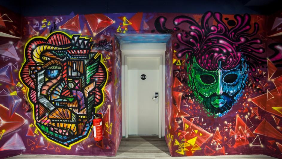 Catalonia Berlin Mitte_Graffiti apertura