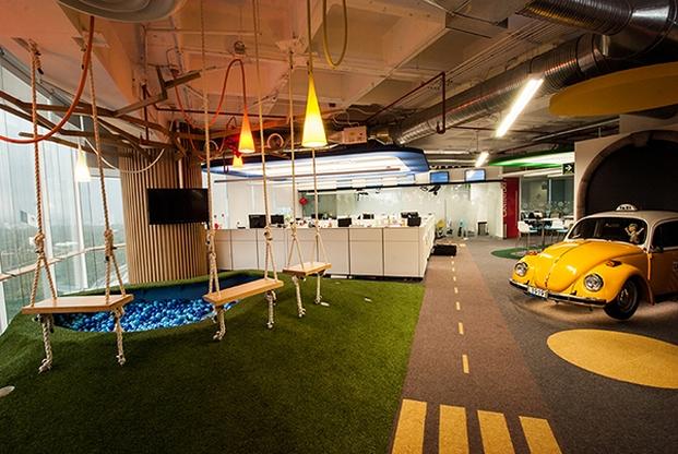 El dise o de las nuevas oficinas la importancia de las for Areas de una oficina