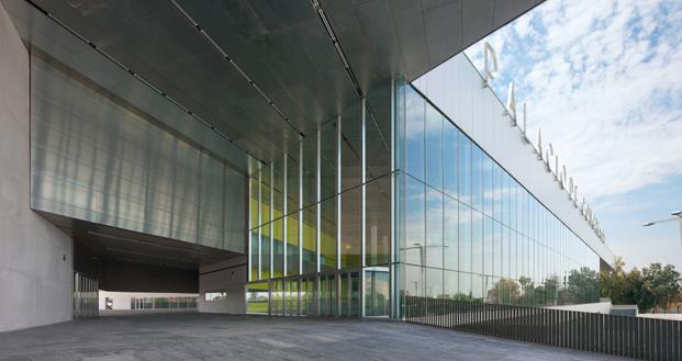Palacio de Congresos de Sevilla, ganador de la categoría Trabajar en 2013.