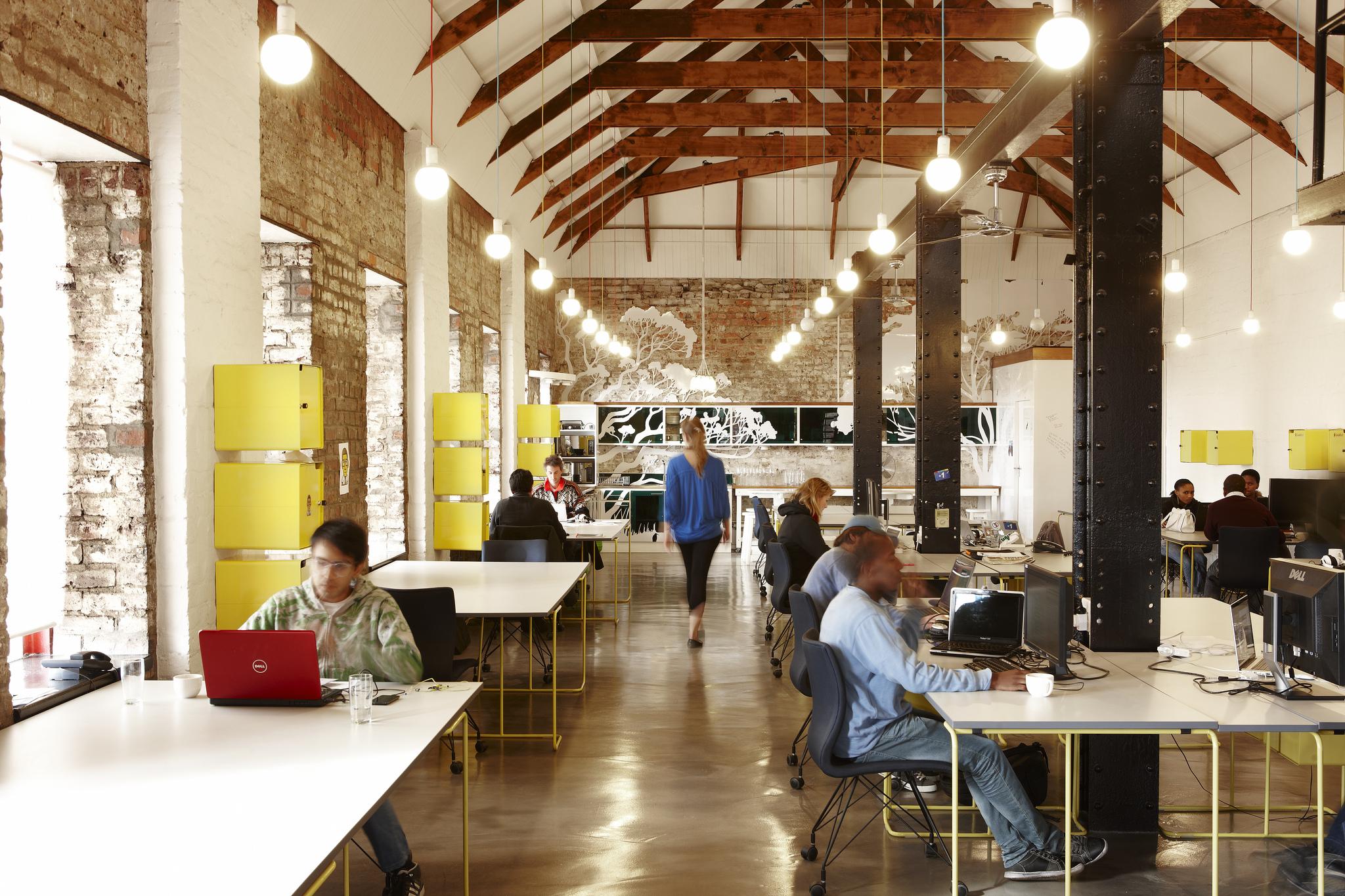 El dise o de las nuevas oficinas la importancia de las for Espacios para oficinas